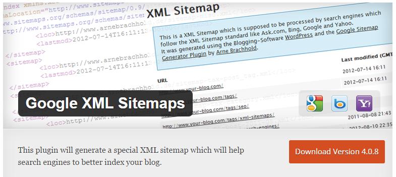 Crear un sitemap en WordPress con el plugin Google XML Sitemaps